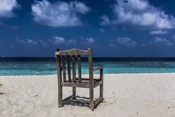 Stuhl mit Ausblick