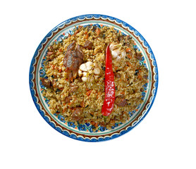 Oriental  pilaf
