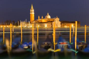 Venice Pier at night