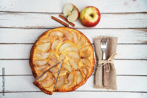 Apple cake - 76812115