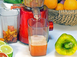extractor juice low rpm in working produces fresh juice without