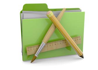 Application Folder - 3d