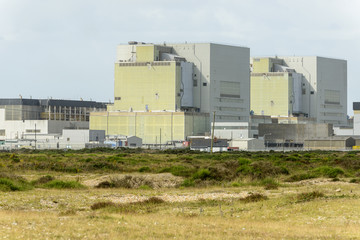nuclear plant buildings at Dungedness