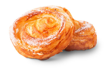 Freshly baked delicious sweet buns