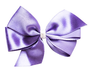 purple red bow