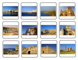 Travel Gozo Island Collage