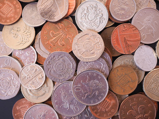 UK Pound coin
