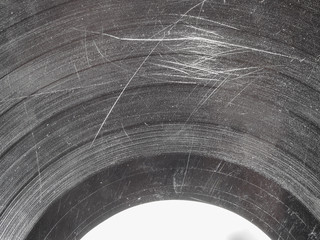 Scratched record