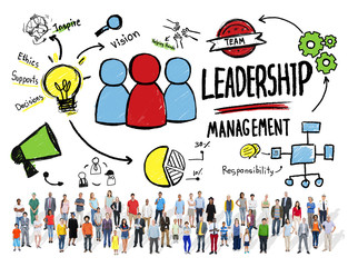 Diversity Casual People Leadership Management Variation Concept
