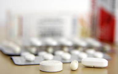 comprimés divers de médicaments