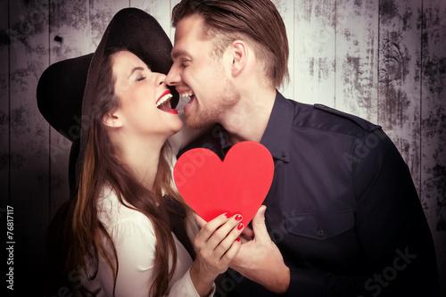 verliebtes Paar - 76817117