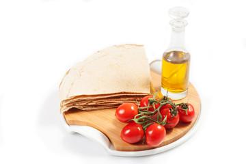 Carasau bread of Sardinia Italy