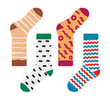 Set of socks with the original design