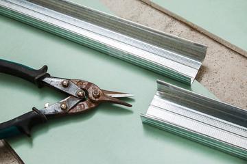 Scissors for metal