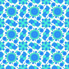 Retro Style Decorative Abstract Pattern