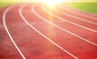 Leinwandbild Motiv running track