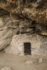 Cliff Dwelling with Historic Graffiti