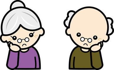 憂鬱・老夫婦