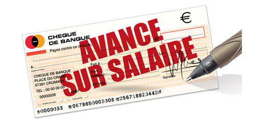avance sur salaire