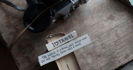 text I Love Travel