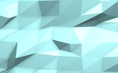 Abstract 3d ice background