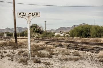 Railroad Tracks in Arizona