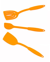 Kitchen tools for turning the food during cooking.