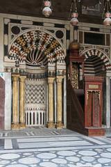 Minbar in Mosque