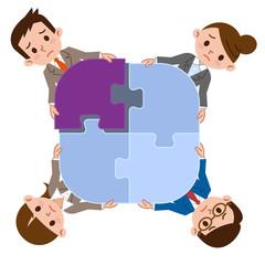 バラバラのチームワーク