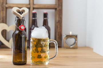 I love beer concept
