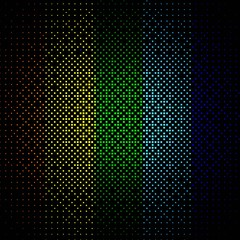 abstract colored background on black