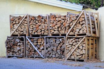 Firewood pile