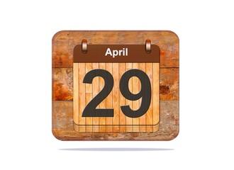 April 29.