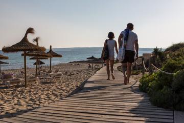 Verso la spiaggia, Formentera