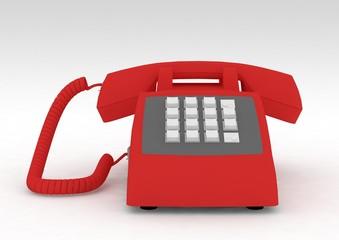rotes telefon