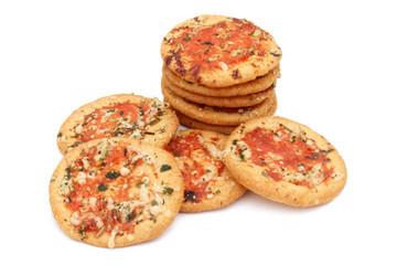 Mini pizza pur l'apéritif