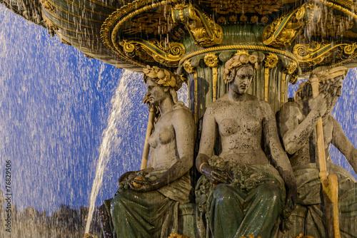 Papiers peints Fontaine Parigi, fontana 4