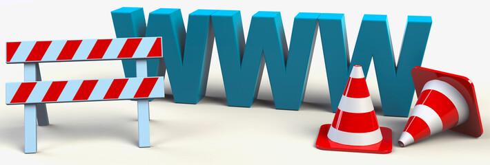 Baustelle www Wartung