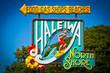 Leinwanddruck Bild - Welcome to Haleiwa