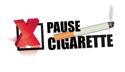interdiction de fumer - pause cigarette