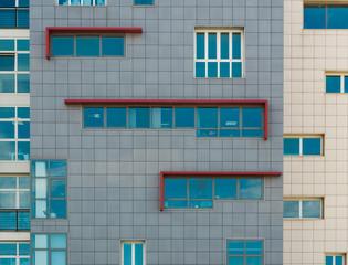 Edificio bicolore