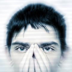 Teenager Face closeup