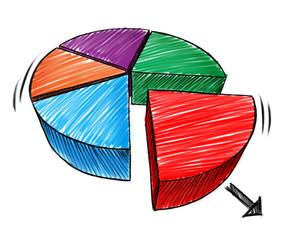 Business Chart Sketch