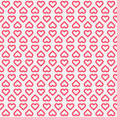 Abstract Background with Heart Signs