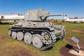 Light Tank PzKpfW 38 (t) in Togliatti Technical museum