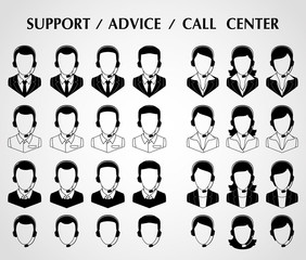 support/advice/call center