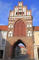 Teterow: Malchiner Tor (14. Jh.. Mecklenburg-Vorpommern)