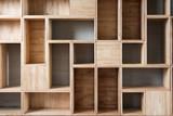 Empty wooden - 76838369