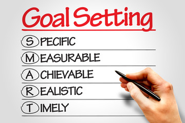 SMART Goal Setting business concept