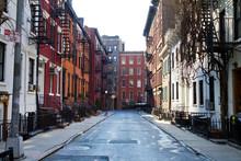 "Постер, картина, фотообои ""Historic Gay Street in New York City"""